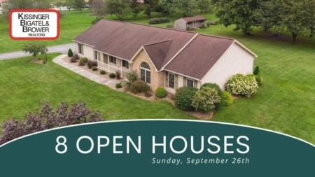 Open Houses - Sunday, September 26th
