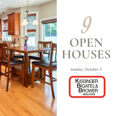 Open House- Sunday, October 3rd