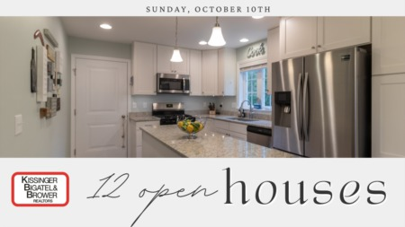 Open House- Sunday, October 10th