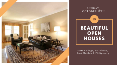 Open Houses - Sunday, October 17th