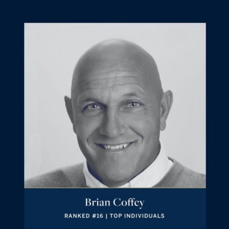 Brian Coffey Ranked #16 | Top Individuals in Real Estate by Sotheby's International Realty