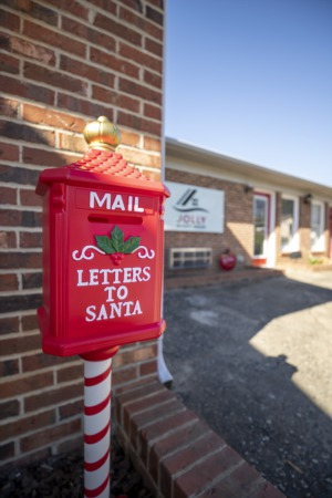 Santa's Mailbox at Jolly Realty Group
