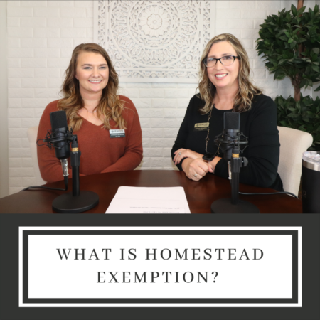 What is Homestead Exemption?