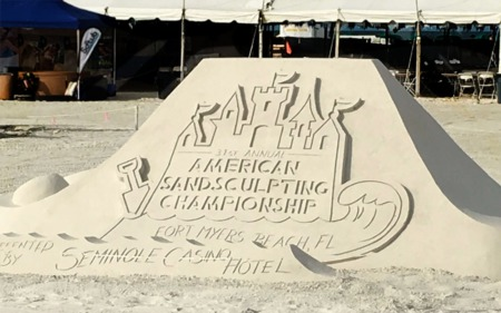 Southwest Florida Sand Sculpting Competition