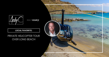 Local Favorite: Private Helicopter Tour Over Long Beach