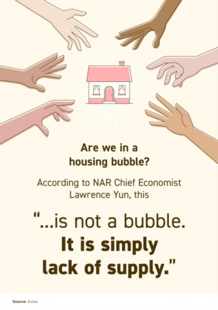 This Isn't a Bubble. It's Simply Lack of Supply