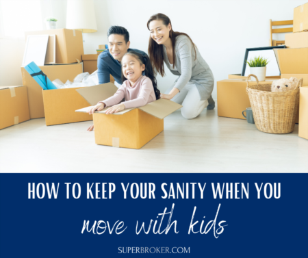How to Keep Your Sanity When Moving With Kids