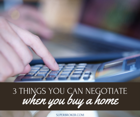 3 Things You Can Negotiate Over With Sellers When You Buy a Home in Lakewood