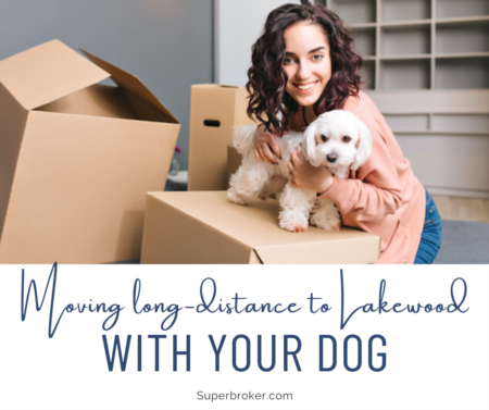 3 Tips for a Long-Distance Move to Lakewood With Your Dog