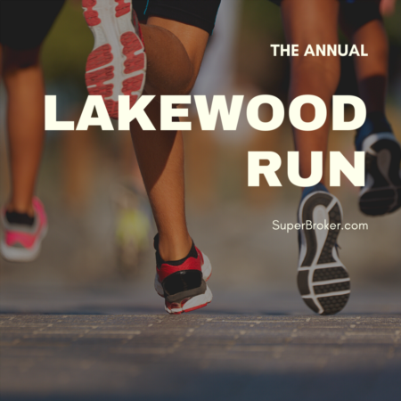 The Annual Lakewood Run: Saturday, March 7, 2020