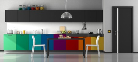 Go Bold or Go Home: 4 Creative Cabinet Colors for Your Long Beach Kitchen