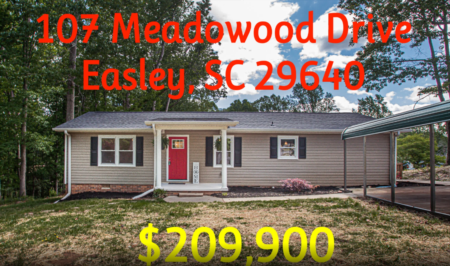 107 Meadowood Dr, Easley SC - Renovation Project