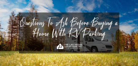 Questions to Ask Before Buying a Home With RV Parking