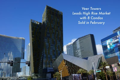 Las Vegas High Rise Condos Sold in February 2015