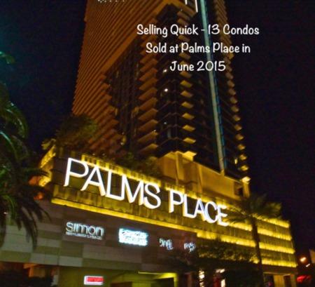 Las Vegas High Rise Condos Sold in June 2015