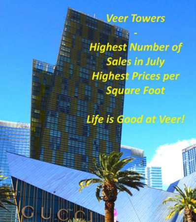Las Vegas High Luxury Rise Condos Sold in July 2015