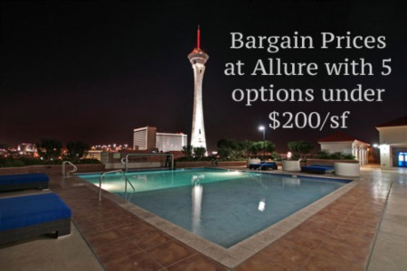 Las Vegas Luxury High Rise Condos Sold in August 2015