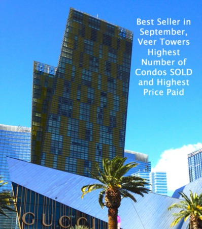 Las Vegas Luxury High Rise Condos Sold in September 2015