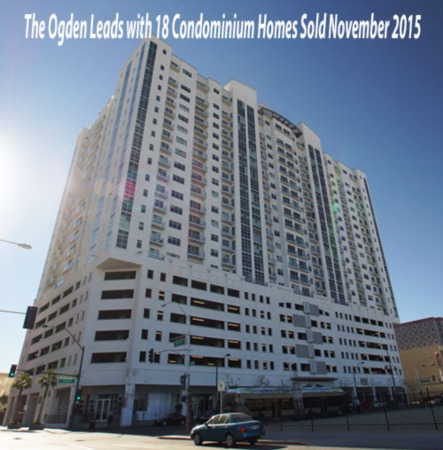 Las Vegas Luxury High Rise Condos Sold in November 2015