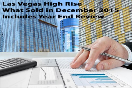 Las Vegas Luxury High Rise Condos Sold in December 2015
