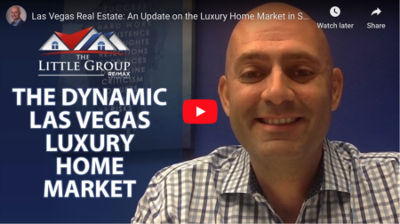 An Update on the Luxury Home Market in Southern Nevada