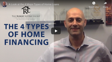 A Look at the 4 Major Types of Home Loans