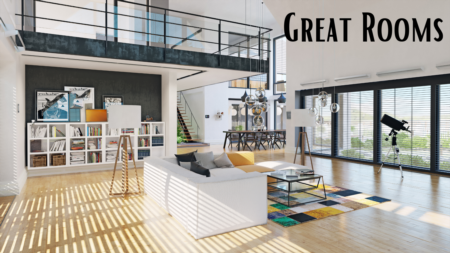 Great Rooms, The New Construction Trend