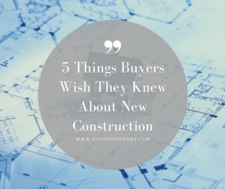 5 Things Buyers Wish They Knew About New Construction