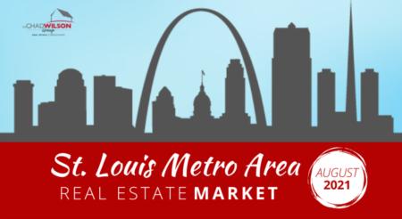 St. Louis Area Real Estate Market - August 2021