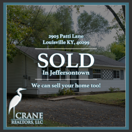 Another successful sale off Taylorsville Rd in Jeffersontown!