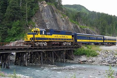 See Alaska the Authentic (Rail) Way