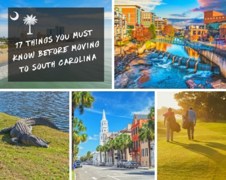 17 Things you Must Know Before Moving to South Carolina