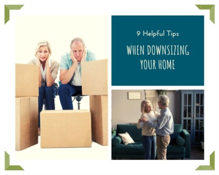 9 Helpful Tips when Downsizing your Home