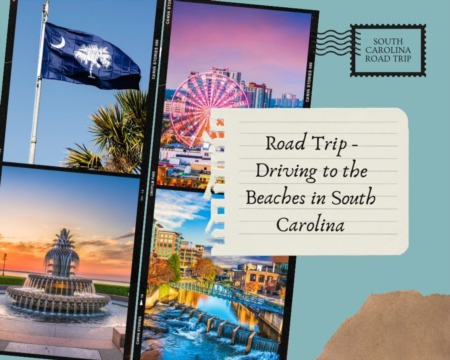 Road Trip - Driving to the Beaches in South Carolina
