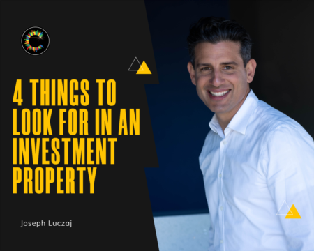 4 Things to Look For in a Good Investment Property