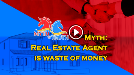 Myth: Real Estate Agent is waste of money