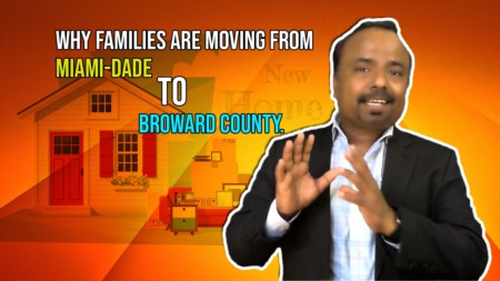 Why Families are moving from Miami-Dade to Broward County.