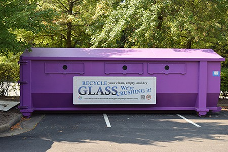 Recycling Glass in Fairfax County