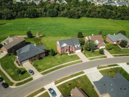 135 Inverness Drive in beautiful Georgetown, KY is the perfect place to call home if you love backing to Greenspace & Being in the Center of it All!