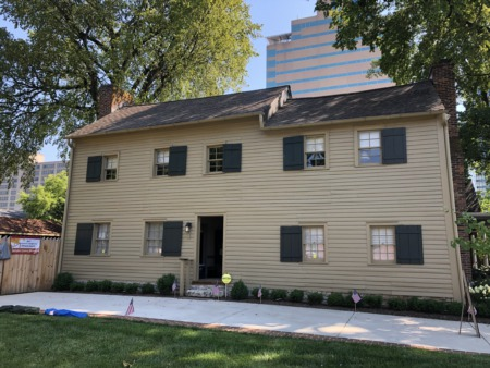 Check out the Adam Rankin House, The Oldest House in Lexington And Where the Famous Burrows Mustard Was Born