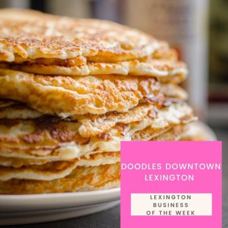 Doodles in Lexington's NoLi district Is Great Spot for Breakfast & Lunch