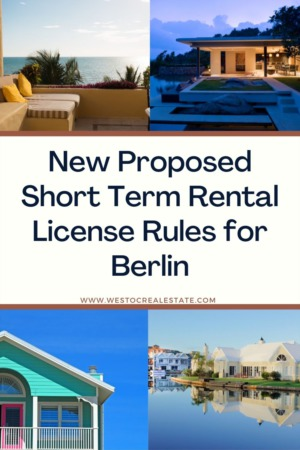 New Proposed Short Term Rental License Rules for Berlin