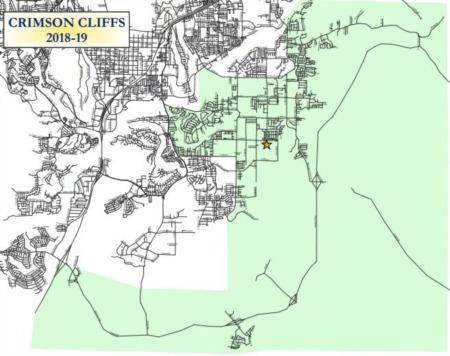 Homes for Sale in Crimson Cliffs Schools Boundary Area