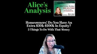 Extra Equity - What to do with it
