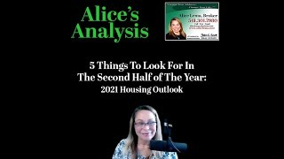5 Things to Watch for in 2nd Half 2021