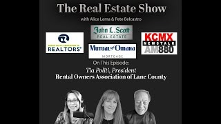 Real Estate Show Tia Politi with Rental Owners Assoc in Oregon