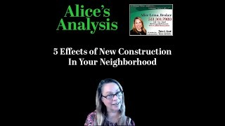 5 Effects of New Construction in Your Neighborhood