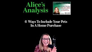Six Ways to Include Pets in Your Home Purchase