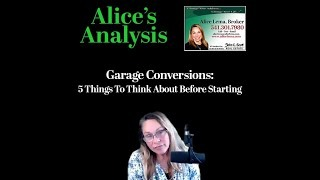 Garage Conversions - 5 Things to Think About
