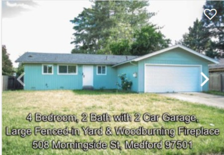 508 Morningside, Medford, Oregon for sale